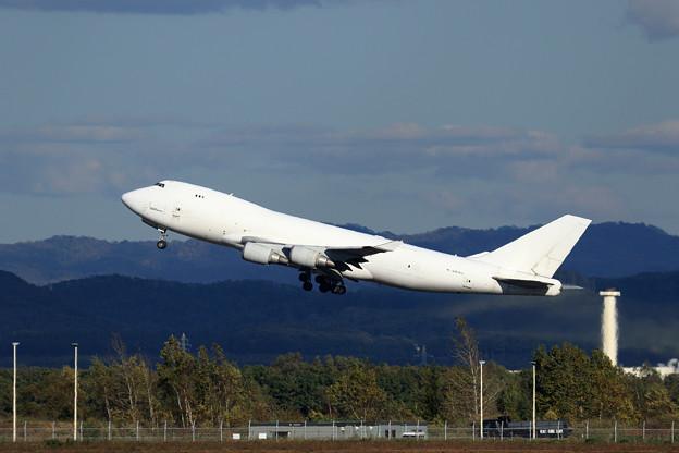 Boeing747F N407KZ Atlas Air takeoff