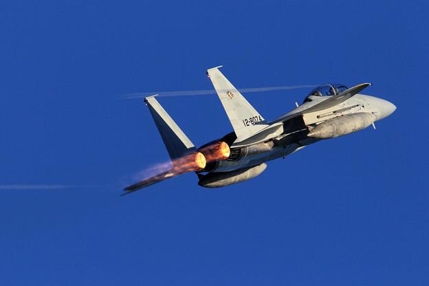 F-15DJ 8074 201sq High Rate takeoff 4