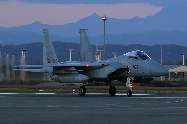 F-15J 陽が傾く頃に