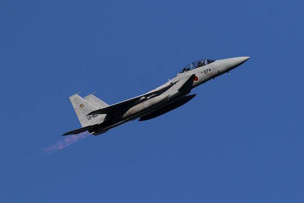 F-15DJ 8074 本日もバーナーオン