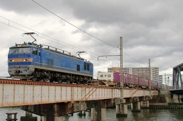 4071レ【EF510-504牽引】