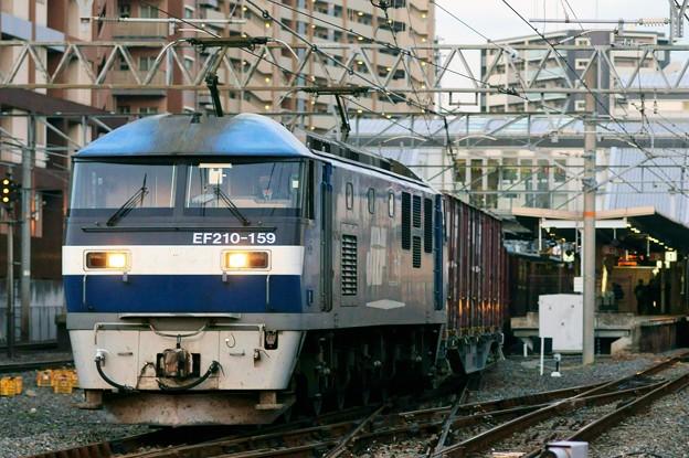 2065レ【F210-159牽引】