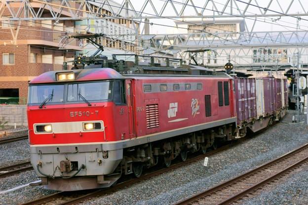 84レ【EF510-7牽引】