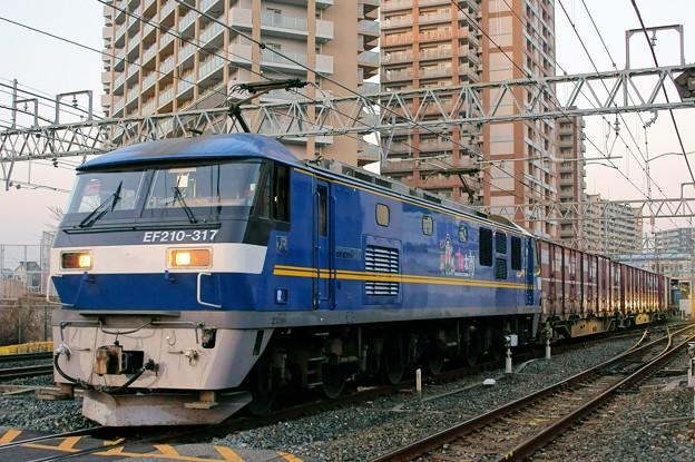 2065レ【EF210-317牽引】