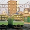 Photos: 201系並び(おおさか東線)