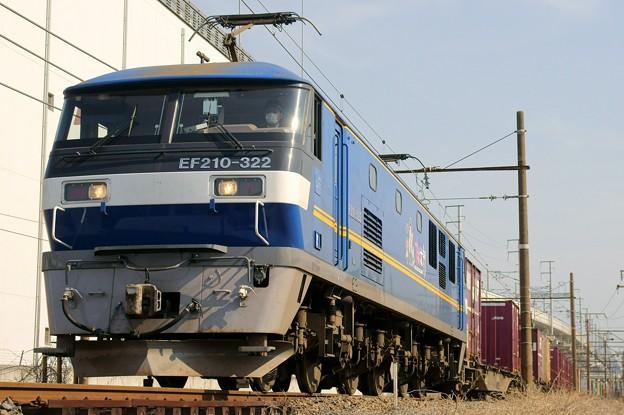 Photos: 81レ【F210-322牽引】
