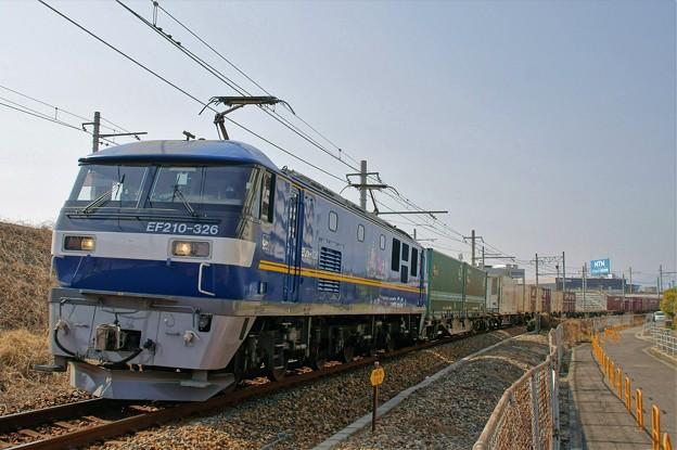 1052レ【EF210-326牽引】