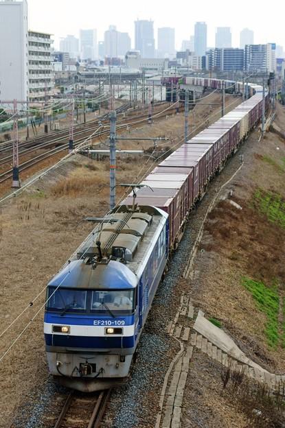 2073レ【EF210-109牽引】