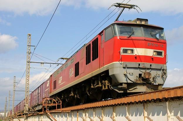 83レ【EF510-15牽引】