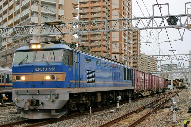 4070レ【EF510-513牽引】