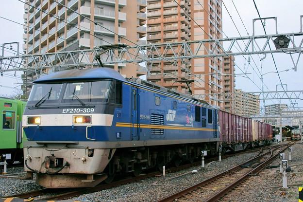 2065レ【EF210-309牽引】