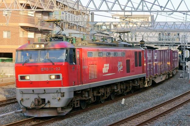 84レ【EF510-23牽引】