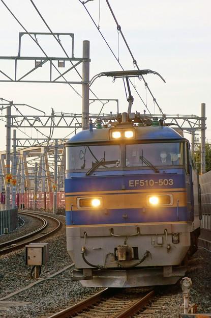 4076レ【EF510-503牽引】