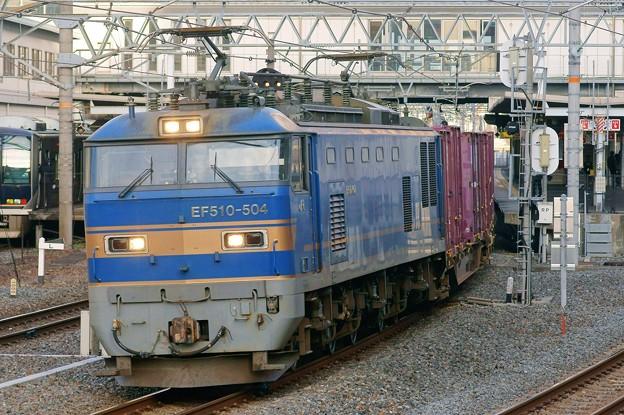 84レ【EF510-504牽引】