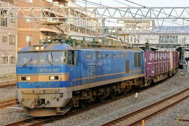 84レ【EF510-507牽引】