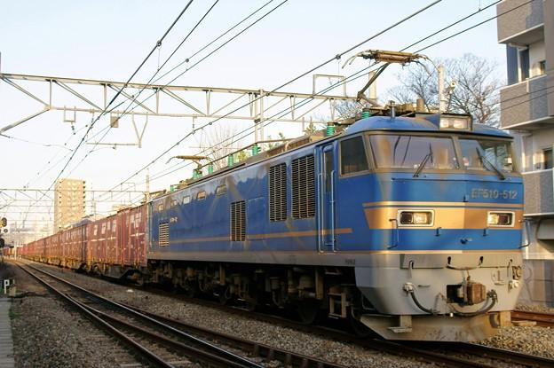 4070レ【F510-512牽引】