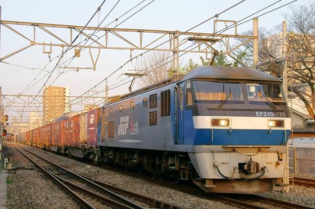 2065レ【EF210-170牽引】
