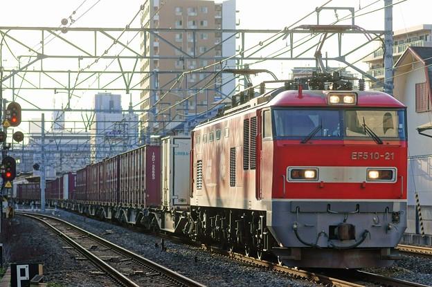 4076レ【EF510-21牽引】