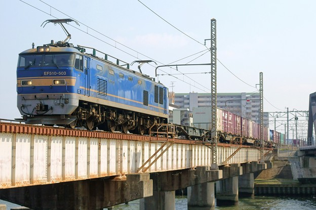 4071レ【EF510-503牽引】