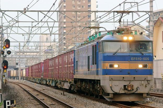 4070レ【EF510-505牽引】