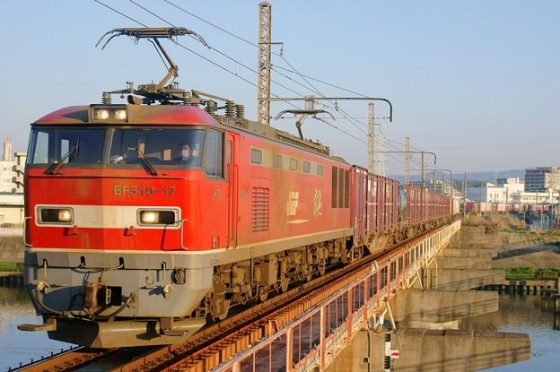 4070レ【EF510-17牽引】