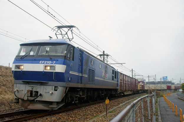 1072レ【EF210-7牽引】