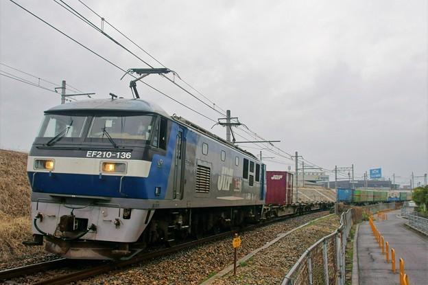 1050レ【EF210-136牽引】