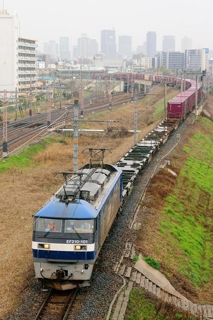 2081レ【EF210-101牽引】