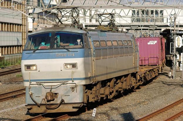 84レ【EF66 113牽引】