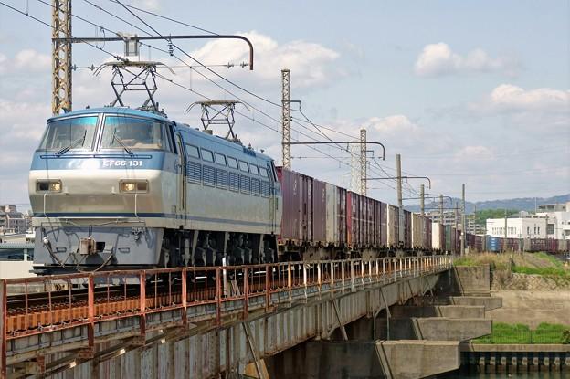 85レ【EF66 131牽引】