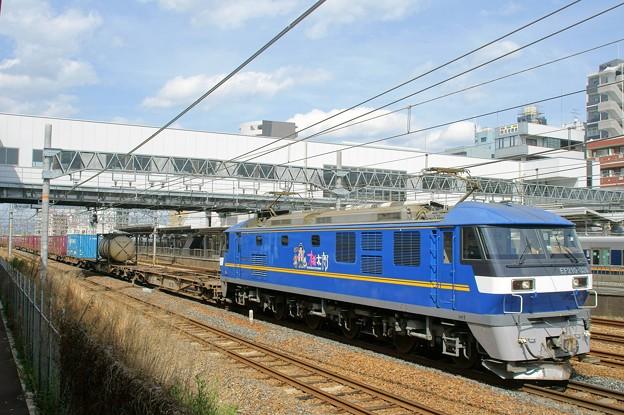 5085レ【EF210-328牽引】