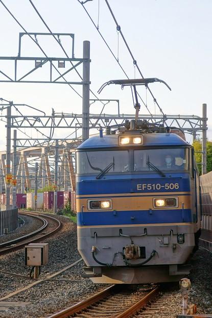 4076レ【EF510-506牽引】