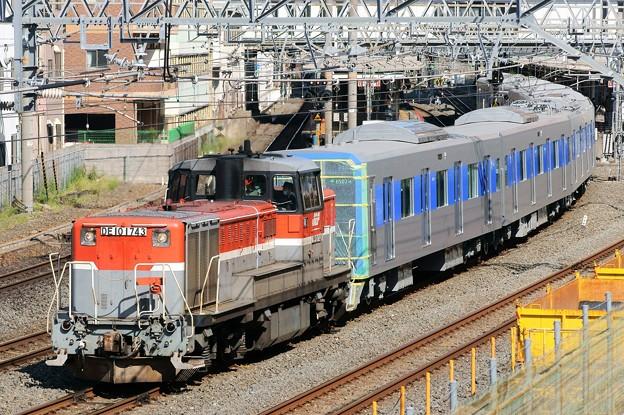 都営地下鉄甲種輸送【DE10 1743牽引】
