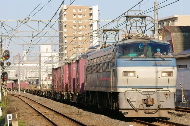 遅83レ【EF66 111牽引】