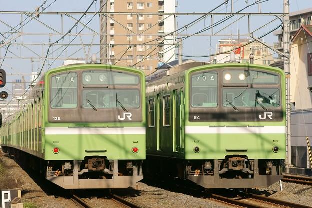 201系並び:おおさか東線