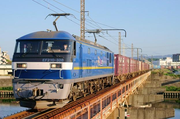 2065レ【EF210-328牽引】