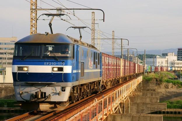 2065レ【EF210-110牽引】