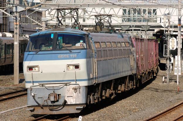 84レ【EF66 119牽引】