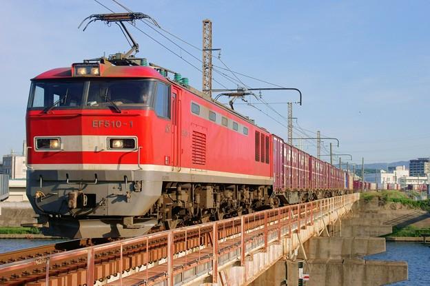 4070レ【EF510‐1牽引】