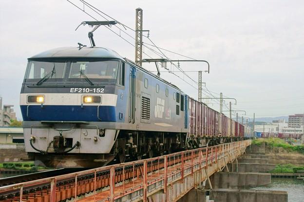 2065レ【EF210-152牽引】