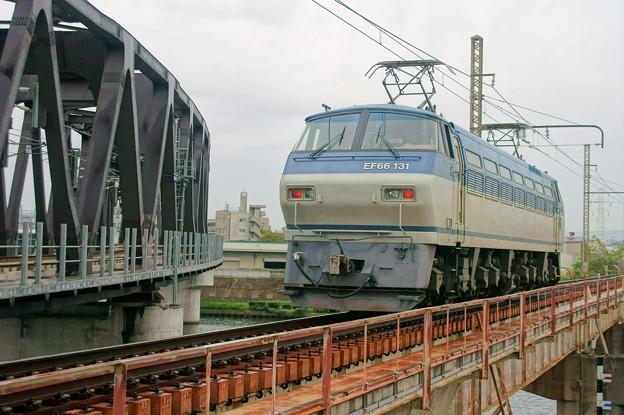 Photos: 単1780【EF66 131】