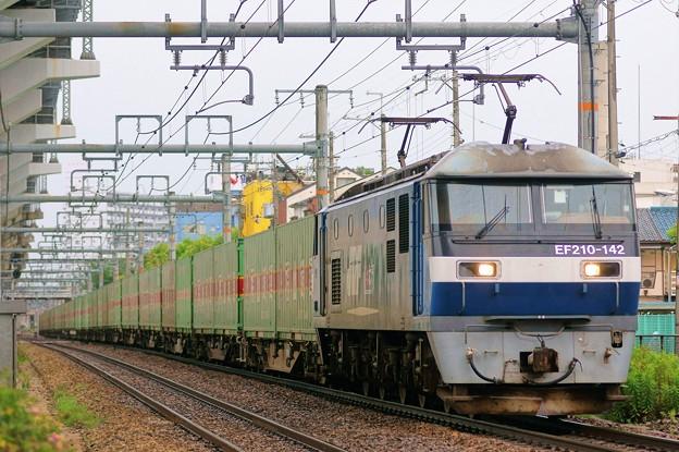 55レ【EF210-142牽引】