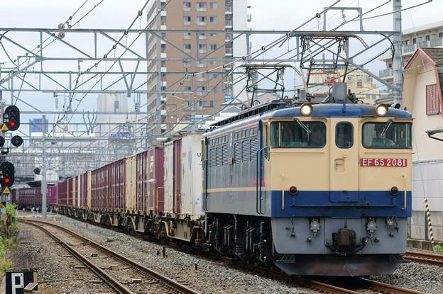 5087レ【EF65 2081牽引】
