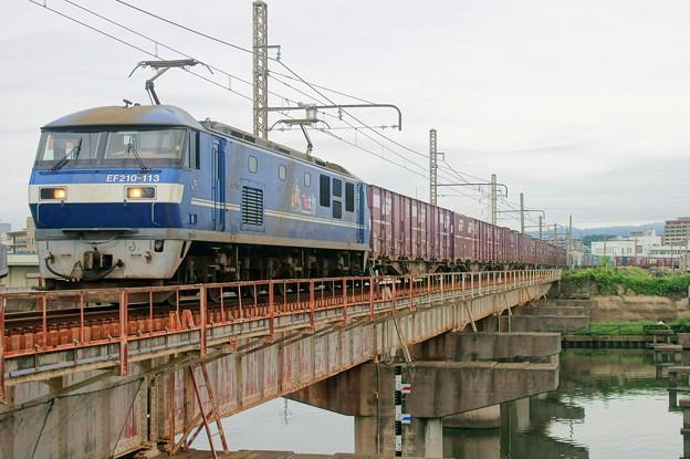 2065レ【EF210-113牽引】