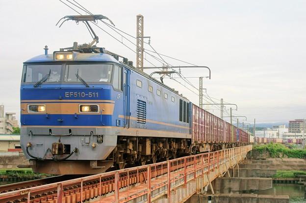 4070レ【EF510-511牽引】