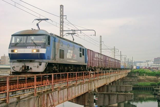 2065レ【EF210-173牽引】