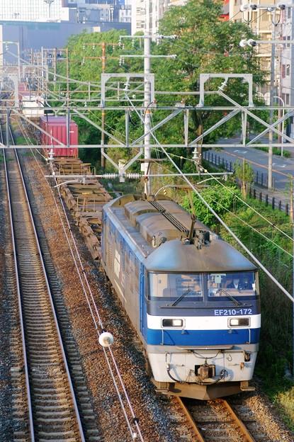 1058レ【EF210-172牽引】