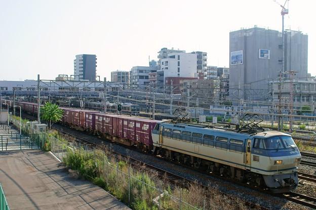 5067レ【EF66 111牽引】