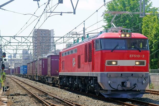 1086レ【EF510-2牽引】