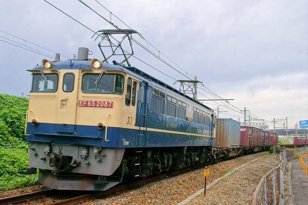 74レ【EF65 2087牽引】